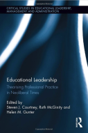 Wilkins, A. 2017. Creating expert publics: A governmentality approach to school governance under neo-liberalism. In S. Courtney, R. McGinity and H. Gunter (eds) Educational leadership: professional practice in neoliberal times. Routledge: London and New York, pp. 97-110
